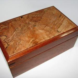 Small Keepsake Box With Spalted and..